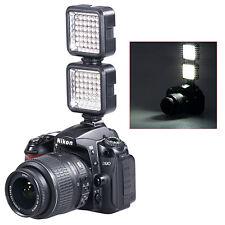 2x Bestlight Video Light 36 LED Rechargeable Battery for DV Canon Nikon DSLR