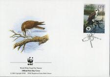 WWF  UCCELLI  FDC POLONIA BUSTA PRIMO GIORNO 2003 FALCHI 1/4