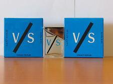 Lot Of 2 Pcs Versus V/S By Vesace for Men 5.ML / .17 oz Eau De Toilette Mini NIB