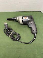 Vintage Black & Decker Heavy Duty Scrugun Drywall Drill Screw Gun Screwdriver