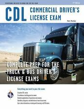 CDL Study Guide Truck Commercial Driver Test License Exam Study Preparation Book