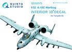 Quinta QD32073 1/32 A-10C 3D-Printed  coloured interior for Trumpeter kit