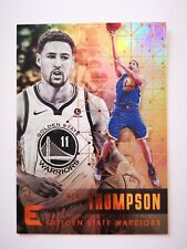 Panini Essentials 2017-18 card carte NBA Golden State Warriors #70 Klay Thompson