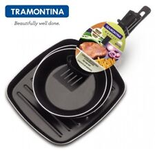 TRAMONTINA 3 Grill Pan Frying Pan Griddle Pan Non-stick Coated Aluminum 20199085