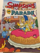 Simpsons Comics On Parade, First Edition (2005) Cardboard Cover 119 Pgs