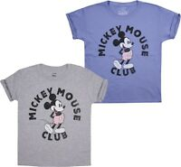 Disney - Mickey Mouse Club - Girls T-Shirt - Sizes 7-14 Years