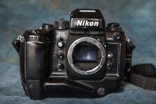 Used Nikon F4 film camera. No lens. Good working condition.