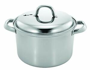 Stainless Steel Steamer Pot Set, 4 Quart, Silver