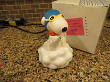 Musical Peanuts Music Box, Willitts, Snoopy Flying Ace Dreamer