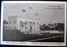 ITALY THE CORAL HOUSE TORRE DEL GRECO (NAPLES)