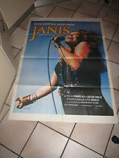 MANIFESTO POSTER 1974, JANIS  JOPLIN Howard Alk  Findlay ,Woodstock  MUSIC