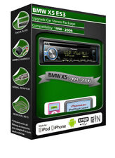 BMW X5 E53 Lecteur CD, Pioneer autoradio avec iPod iPhone Android USB