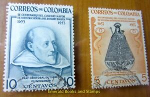 EBS Colombia 1954 300th anniversary Our Lady of the Rosary College, Bogotá 705-6