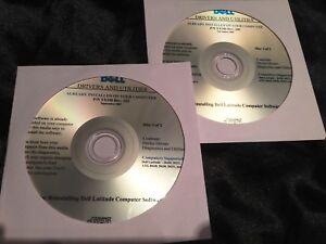 Dell Latitude D430 D531 D630 D631 D830 XP Drivers CD DVD Disc