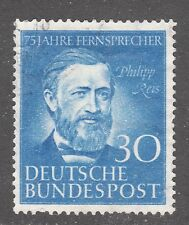 Germany Stamp #693 — Telephone Service - 1952 - Used