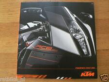 HAP-011 KTM BROCHURE  POWERPARTS STREET 2008 120 PAGES GERMAN/ENGLISH LANG