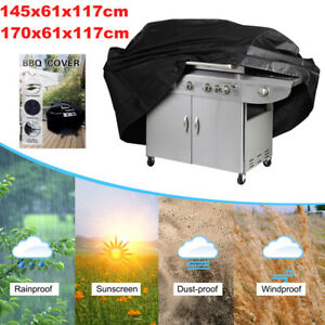 145 Grillabdeckung Grill Gasgrill Abdeckung Abdeckhaube Schutzhülle Wetterschutz