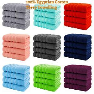 4 X Jumbo Bath Sheet Towels 100% Egyptian Cotton  Soft Large Size Big Bargain