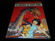 Leloup : Yoko Tsuno 16 : Le dragon de Hong Kong Editions Dupuis 1986