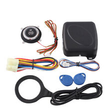 12V Immobilizer Burglar Car Engine Push Start Keyless Rfid Lock Ignition Entry
