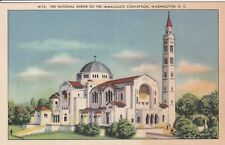 (W)  Washington, DC - National Shrine of the Immaculate Conception - Exterior