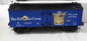 ✅MTH PREMIER UNCATALOGED BLUE BELL ICE CREAM 36' WOOD SIDE REEFER CAR 20-94404!