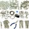 Deluxe Jewellery Making Kit Starter Tool Pliers Set Silver Beads Findings Large