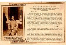 WW1 NAZARIO SAURO LETTERA DI ADDIO  1916