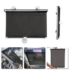 Car Retractable Sun Shade Curtain Suction Cup UV Protection Side Window Curtain