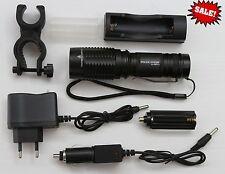 Strong Highlight Flashlight CREE LED Torch T6 LED 54000 LUMENS XL/LL527-1 8000W