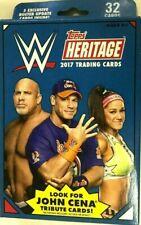 2017 TOPPS WWE HERITAGE HANGER  BOX