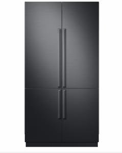 Samsung Refrigerator matte black door upgrade kit RAT42ACAAMS REDUCED SCRATCH