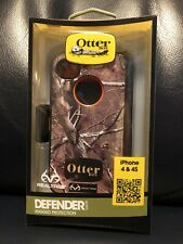 Otter Box Defender Realtree Camouflage Iphone 4 4S Cell Phone Case Brand New 740