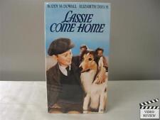 Lassie Come Home VHS Roddy McDowall, Elizabeth Taylor, Donald Crisp; Wilcox