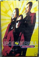 "URGE OVERKILL ""Saturation"" 23""x35"" PROMO POSTER ©1993"