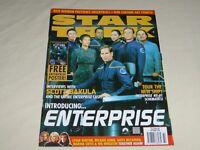 Star Trek The Official Monthly Magazine UK Titan 84 Enterprise Scott Bakula
