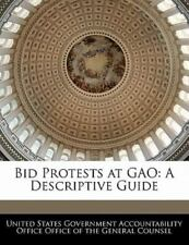 Bid Protests at Gao: A Descriptive Guide (Paperback or Softback)