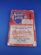 Mights Official Arrow Street Guide 1958 Metropolitan Toronto Tourist Travel
