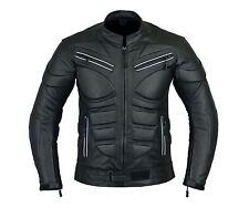 Motorcycle Bikers Armored Men's Leather Jacket LJ-4008.