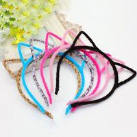 1XBaby Girls cat ear Headband Hair Band Accessories Headwear Kids Cute InfaÁÁ