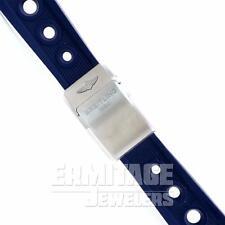Breitling Blue Ocean Racer Rubber Strap 24 MM Deployant Clasp