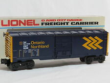 Lionel (0) #6-9438 Ontario Northland Box Car