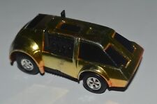 1977 Mego Speed Burners Car Very Rare Suv Gold Chrome Used Excellent Conditions