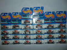26) VOLKSWAGEN Hot Wheels VW Beatle Bug HW White 1997 Lot GREAT FOR CUSTOMS *