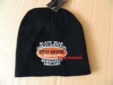 Harley-Davidson Mütze Strickmütze Beanie schwarz Hat Knit Neu BB emblem SALE !