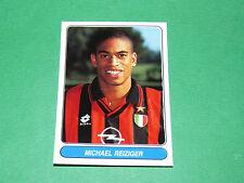 N°43 M. REIZIGER MILAN AC CALCIO PANINI EUROPEAN FOOTBALL STARS 1996-1997