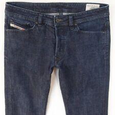 Herren Diesel Viker or8ca Stretch Straight Regular Fit blau Jeans w32 l34
