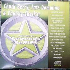 LEGENDS KARAOKE CDG CHUCK BERRY,FATS DOMINO & CHUBBY CHECKER #49 16 SONGS CD+G