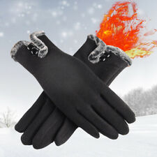 Women Winter Warm Windproof Thermal Gloves Touch Screen Mittens Outdoor Cycling