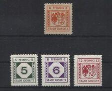 Lokal Görlitz 7, 9, 10 und 12 x ungebraucht (B05223)